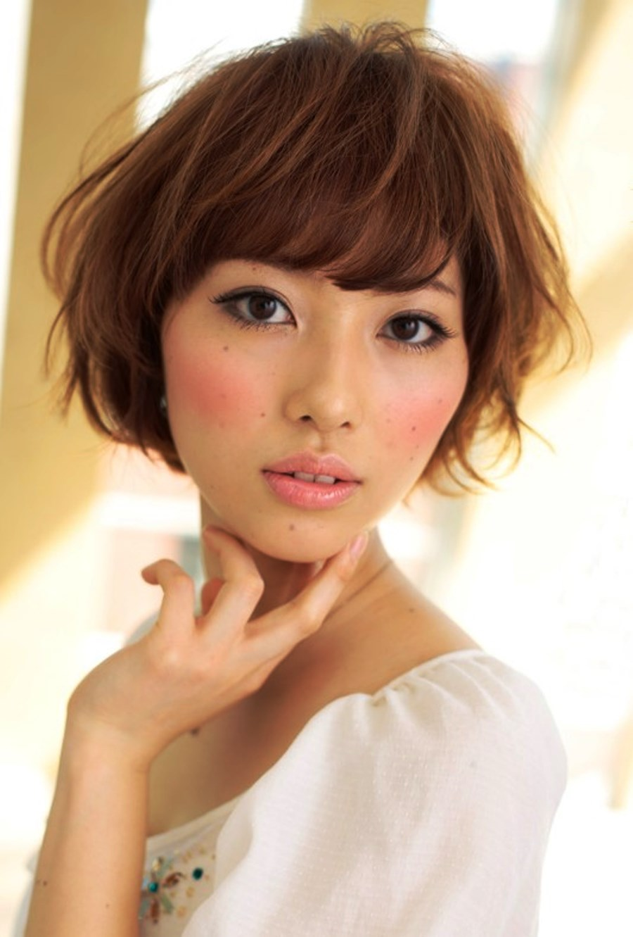 Pictures Of Japanese Short Hairstyle