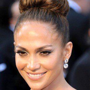 Jennifer Lopez Formal Classic Bun