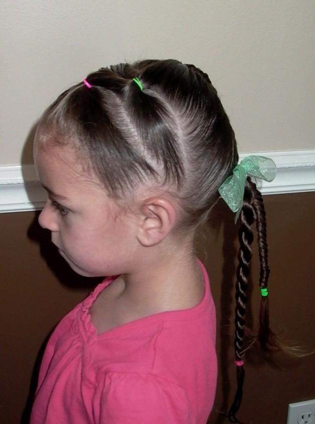 Pleasant Kids Hairstyles Braids For Girls Behairstyles Com Short Hairstyles For Black Women Fulllsitofus