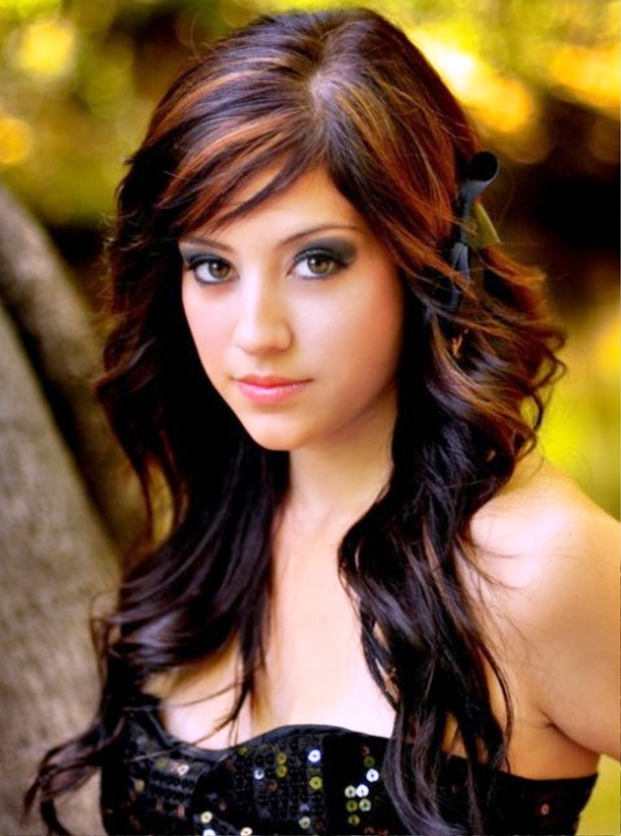 Long Curly Hairstyles With Hair Highlights Hairstyle Ideas Be