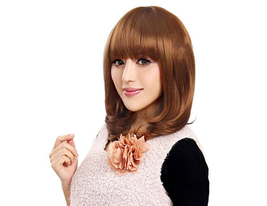 Medium Length Hair No Bangs Hairstyles Ideas Medium Length Hair No