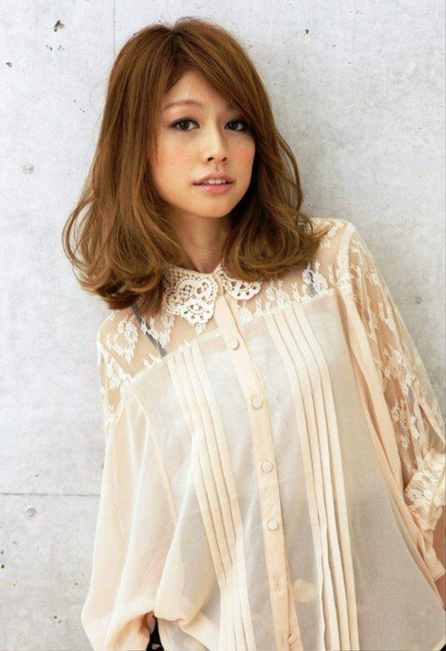 Medium Japanese Hairstyle