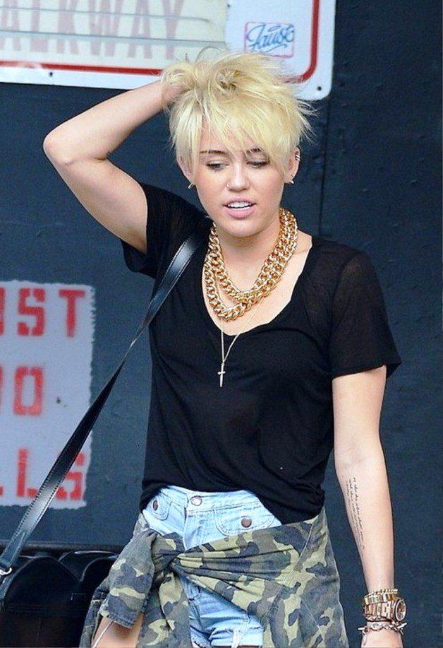 Miley Cyrus Short Haircut 2013 Behairstyles