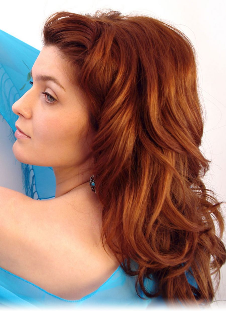 Pictures of Natural Red Hair Styles