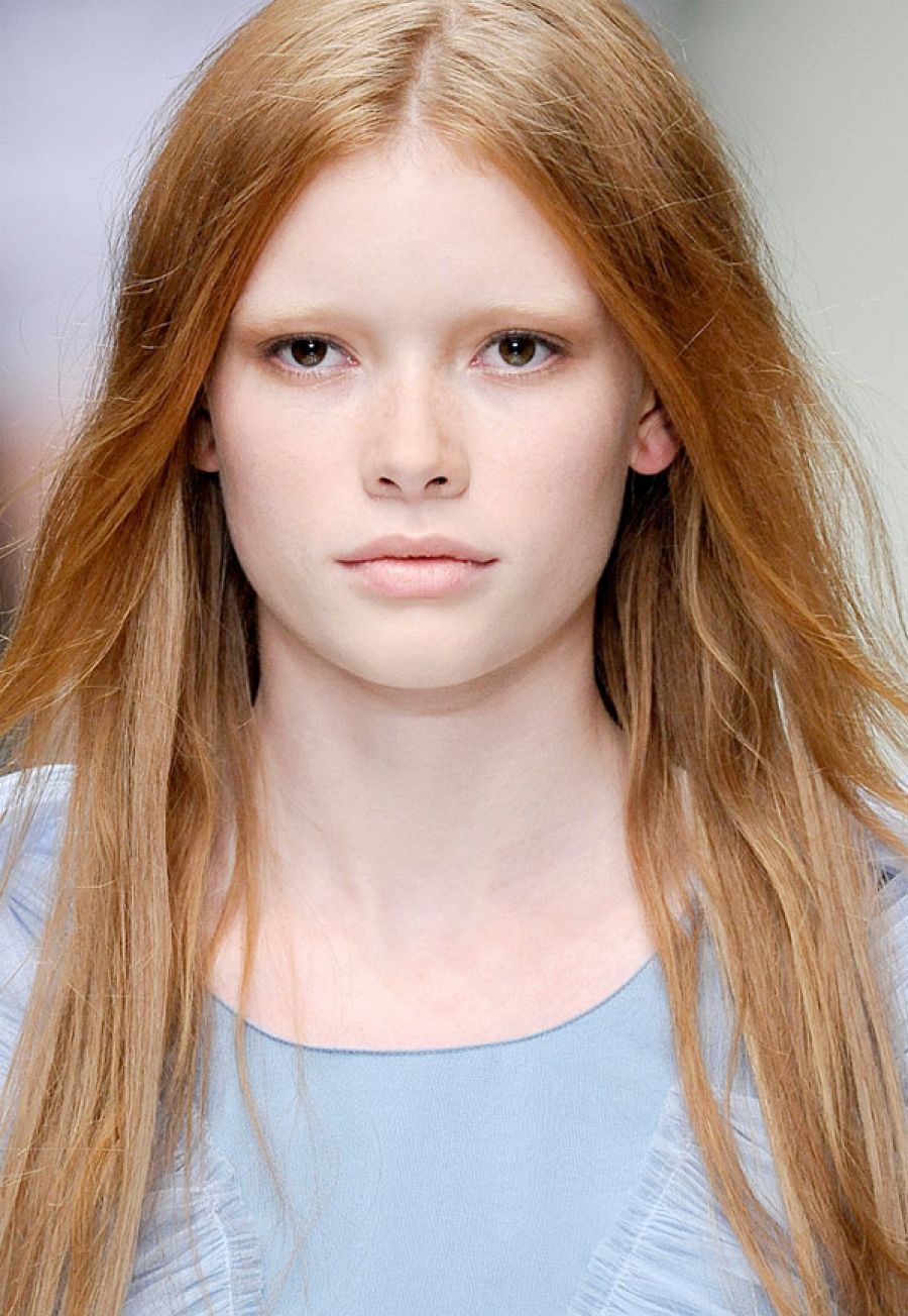 Pictures of Natural Redhead Hairstyles