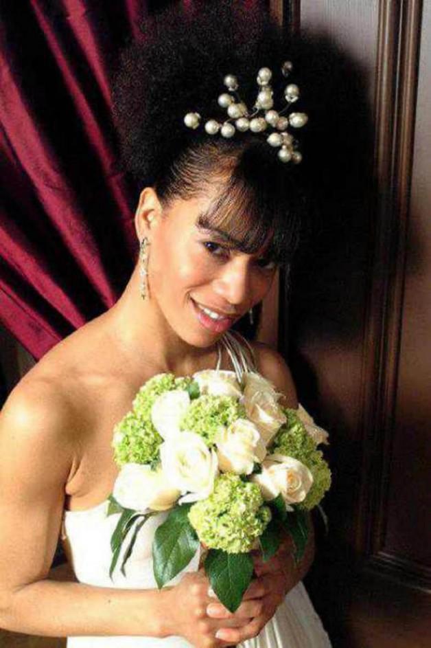 Natural Black Wedding Hairstyles