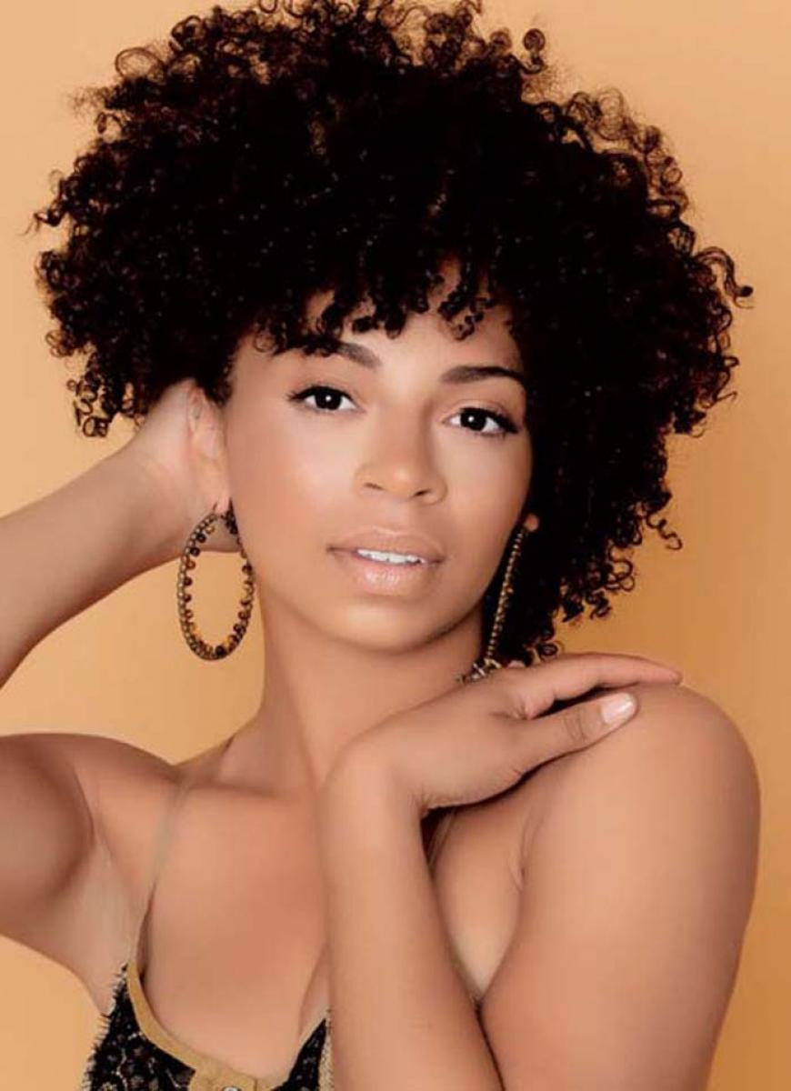Pictures Of Natural Short Hairstyles For Black Women 2013