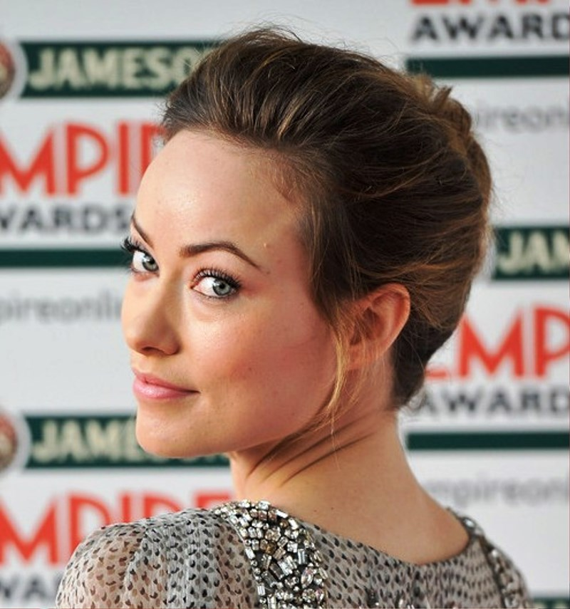 Pictures Of Olivia Wilde Classic French Twist