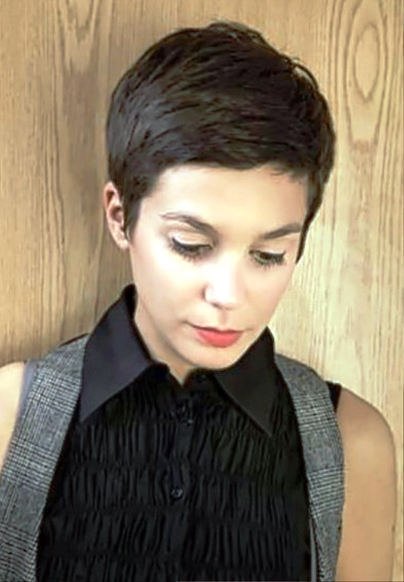 Pictures Of Pixie Cut For Girls