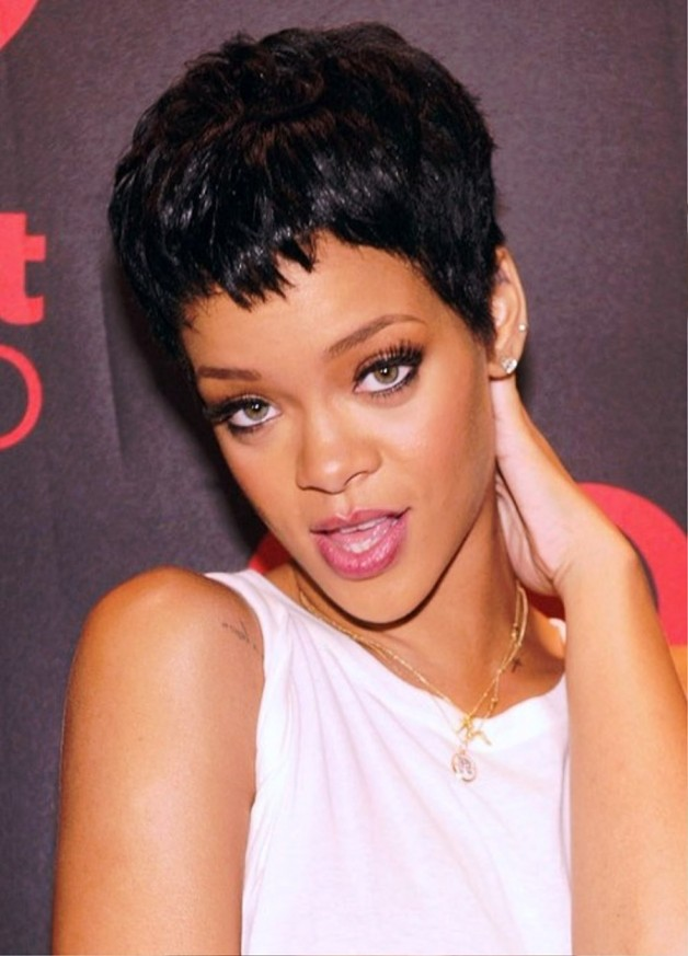 Rihanna Hairstyles 2013