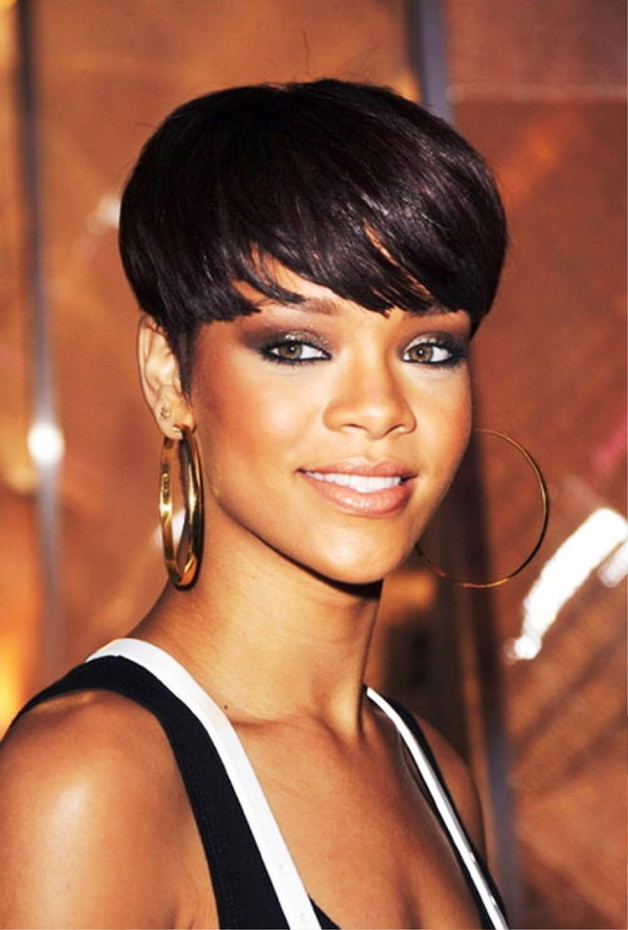Rihanna Short Hairstyles Latest Behairstyles