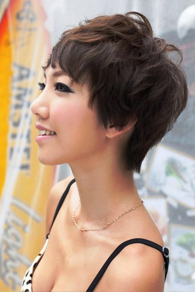 Sexy Japanese Girls Short Haircut