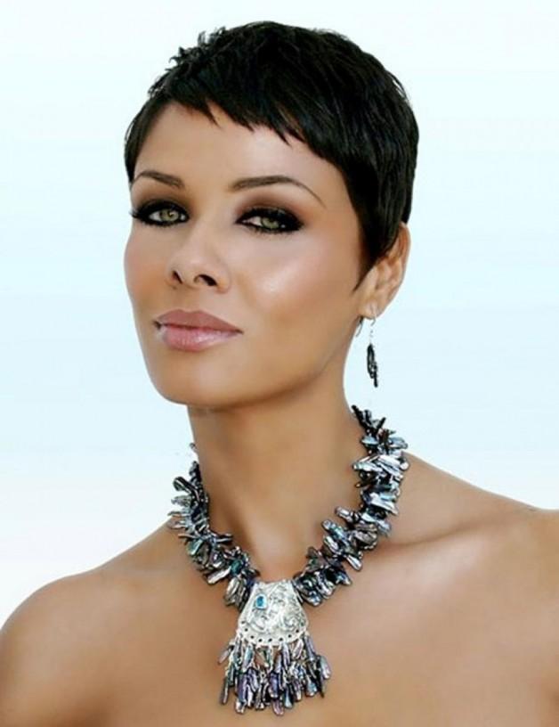 Short Black Hairstyles For Women 2013