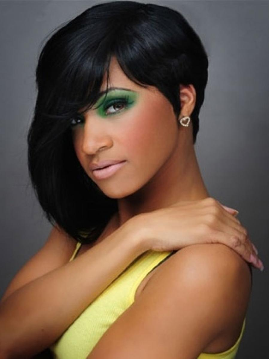 Short Black Hairstyles With Weave Hairstyles Ideas Short Black