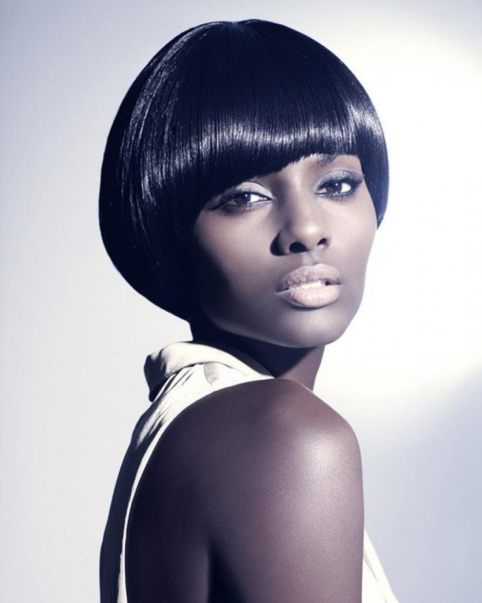 pictures of short bob haircuts for black women 2013