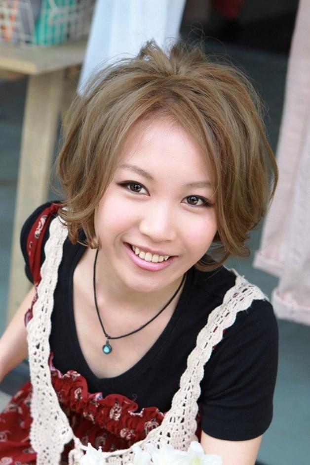 Short Messy Japanese Bob Haircut Behairstyles
