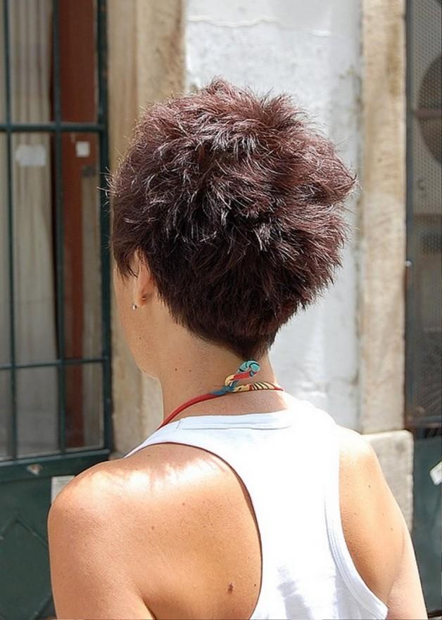Short Pixie Haircut For Summer