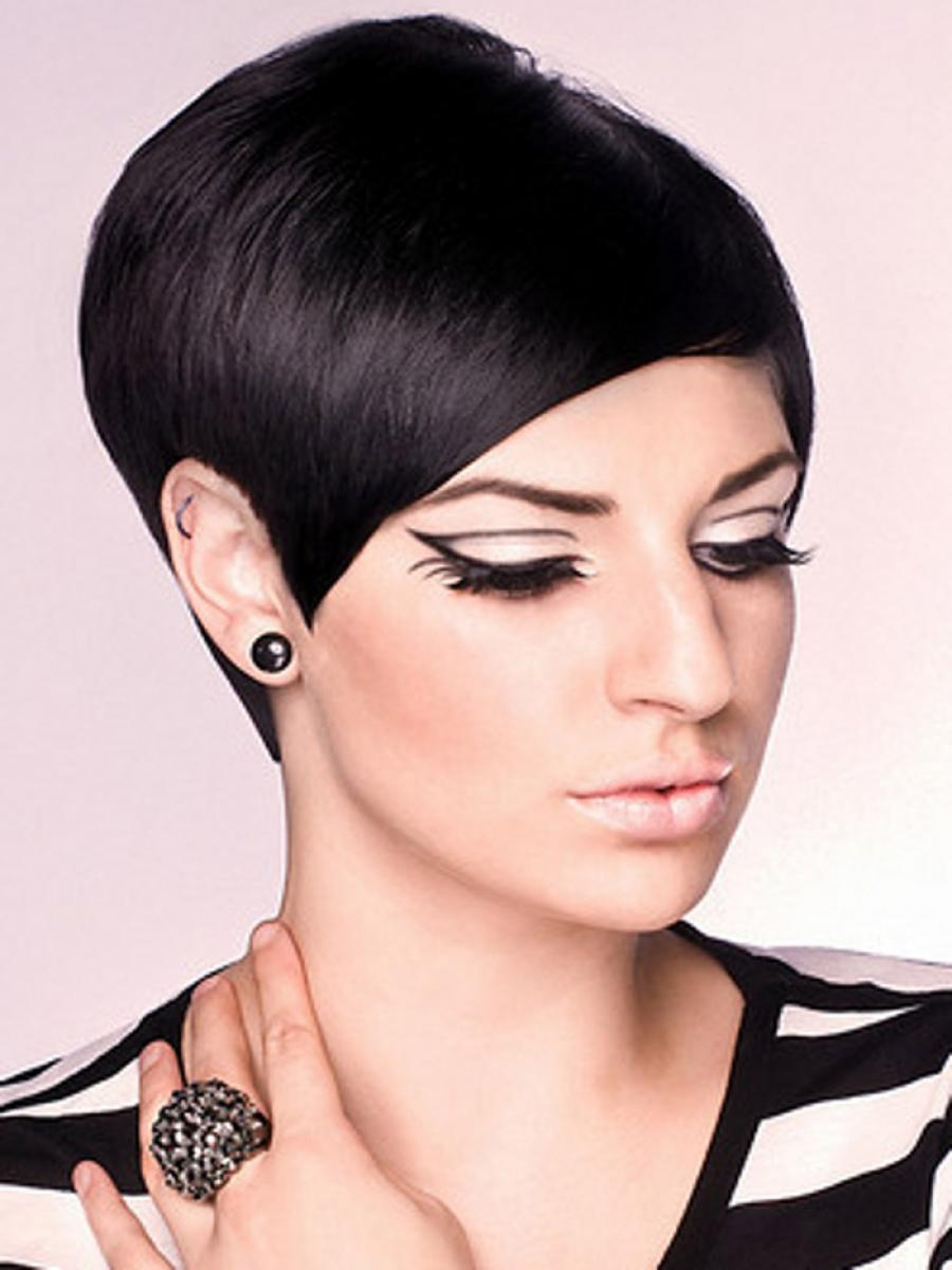 short hair black hair styles pictures of sophisticated black hairstyles 9412 | Short Sophisticated Black Hairstyles