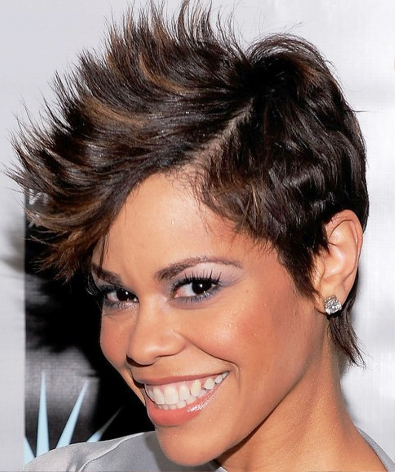 Pictures Of Short Spiky Haircut For Women