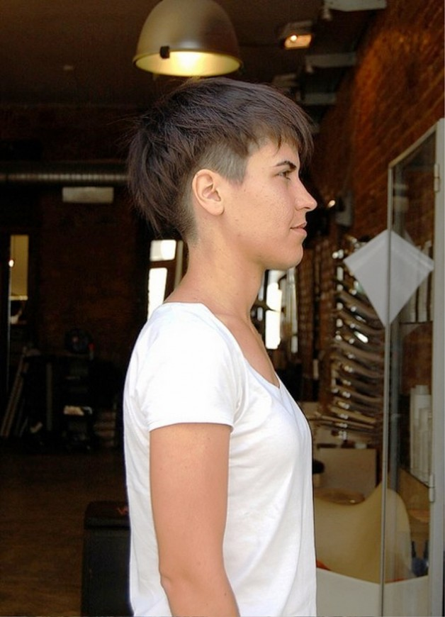 Side View Of Trendy Short Haircuts For Women Behairstyles