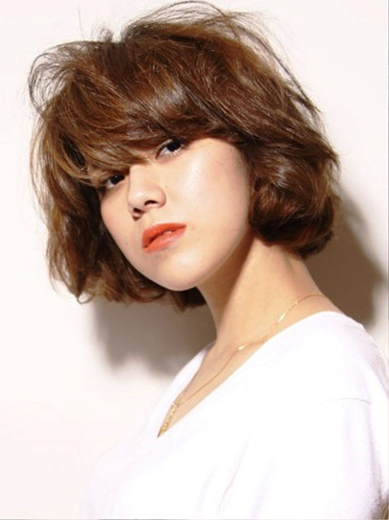 hair asian style pictures of stylish japanese hairstyle with curls 8543