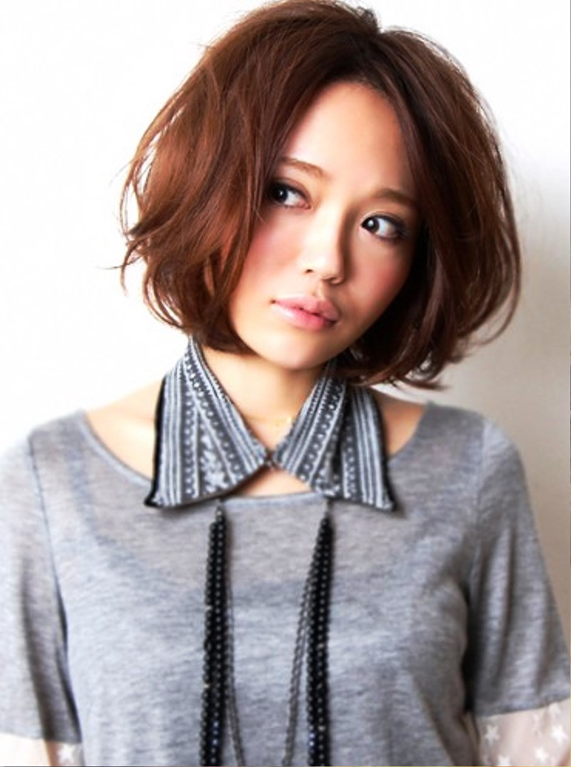 Pictures Of Stylish Short Japanese Haircut For Girls