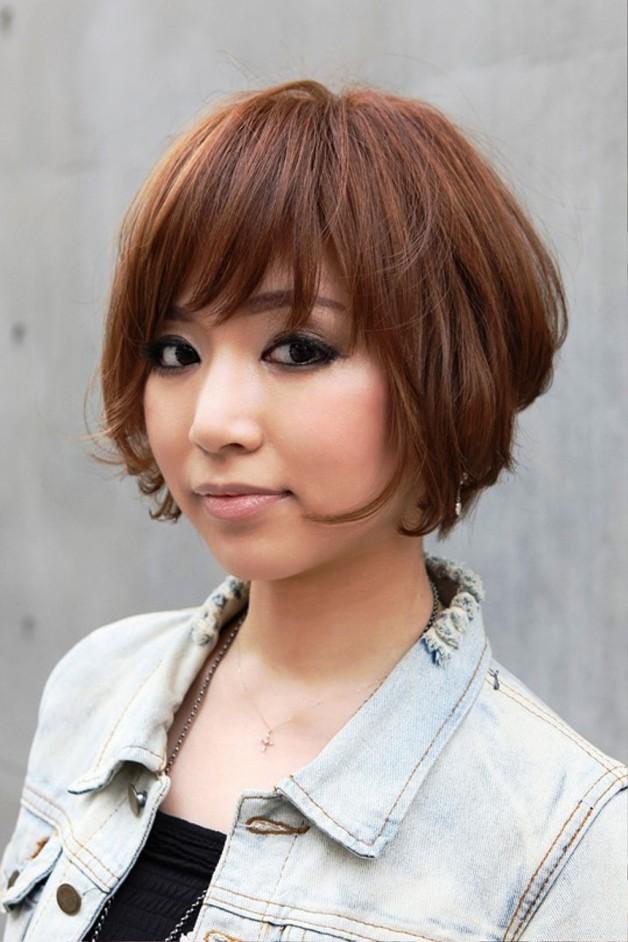 Trendy Short Japanese Bob Haircut With Bangs Behairstyles