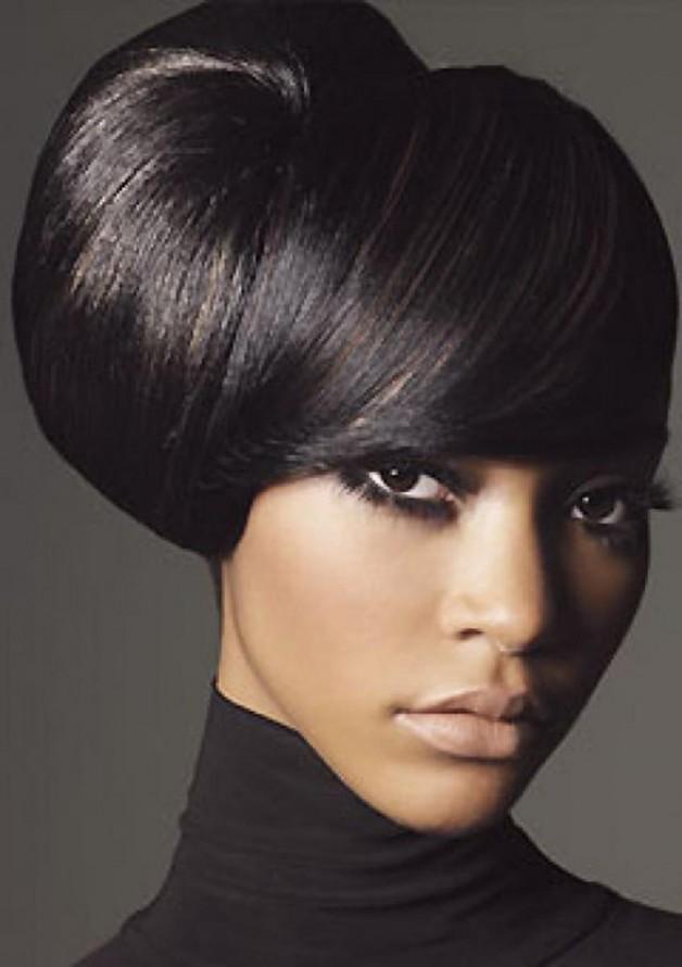 Groovy Updo Black Women Hairstyles 2013 Behairstyles Com Short Hairstyles For Black Women Fulllsitofus