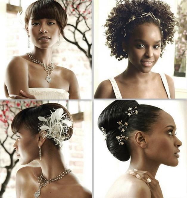 Wedding Hairstyles For Bridesmaids Black Women