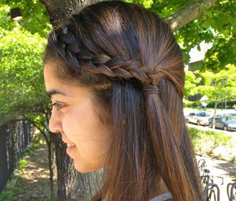 long straight hair with braids behairstylescom